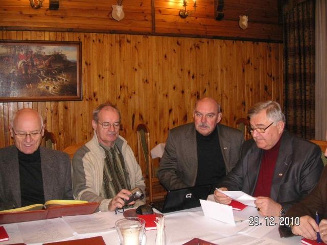 29.12.2010 – Posiedzenie Zarządu Stowarzyszenia