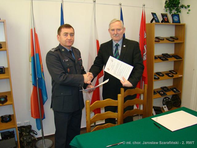 Porozumienie o współpracy z 2. RWT Bydgoszcz