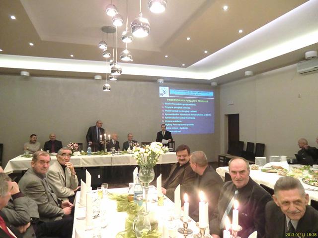 Walne Zebranie i Spotkanie Noworoczne Stowarzyszenia