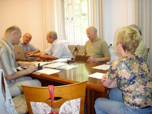 Posiedzenie Zarządu Stowarzyszenia