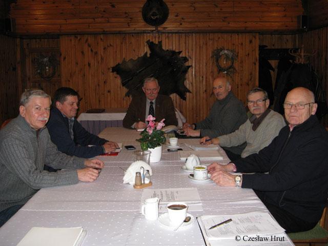 Posiedzenie Zarządu Stowarzyszenia ŻPiS 2 KOP w dniu 26.01.2015