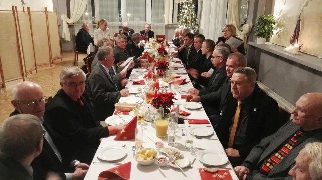 Fotoreportaż ze spotkania opłatkowego Stowarzyszenia. w dniu 14 grudnia 2016 r.