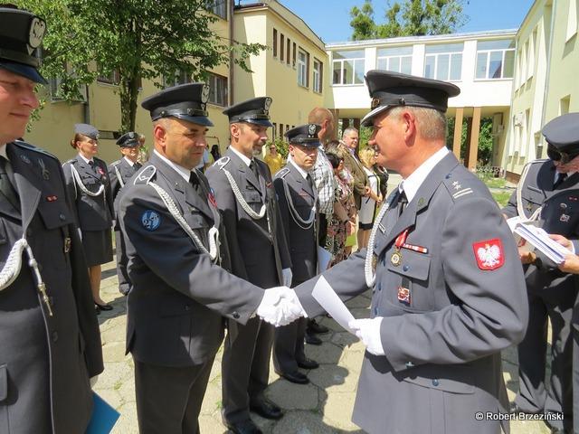 Fotoreportaż z uroczystego apelu w 2. RWT SP z okazji Święta Wojska Polskiego w dniu 14.08.2015 r.