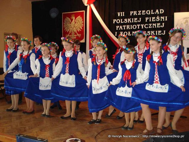 VII Przegląd Polskiej Pieśni Patriotycznej i Żołnierskiej MROCZA – 2012.