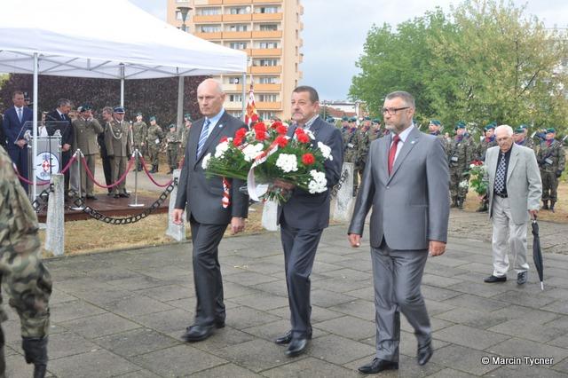 Fotoreportaż z udziału w uroczystych obchodach Święta Lotnictwa Polskiego na bydgoskim Błoniu w dniu 28.08.2015 r.