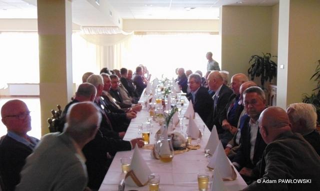 Fotoreportaż ze spotkania koleżeńskiego z okazji Świąt Rodzajów Wojsk w dniu 23 września 2016 r.