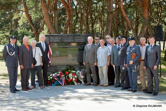 Fotoreportaż z udziału w uroczystości odsłonięcia tablicy pamiątkowej w parku 2 KOP na bydgoskim Błoniu w dniu 26.08.2016 r.