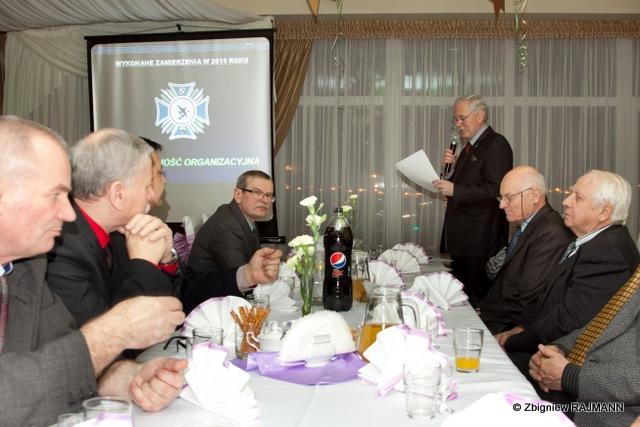 Fotoreportaż z Walnego Zebrania Członków Stowarzyszenia i Noworocznego Spotkania Koleżeńskiego w dniu 15.01.2016 r.