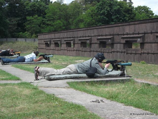 Fotoreportaż z zawodów strzeleckich z okazji 25 lat Żandarmerii Wojskowej